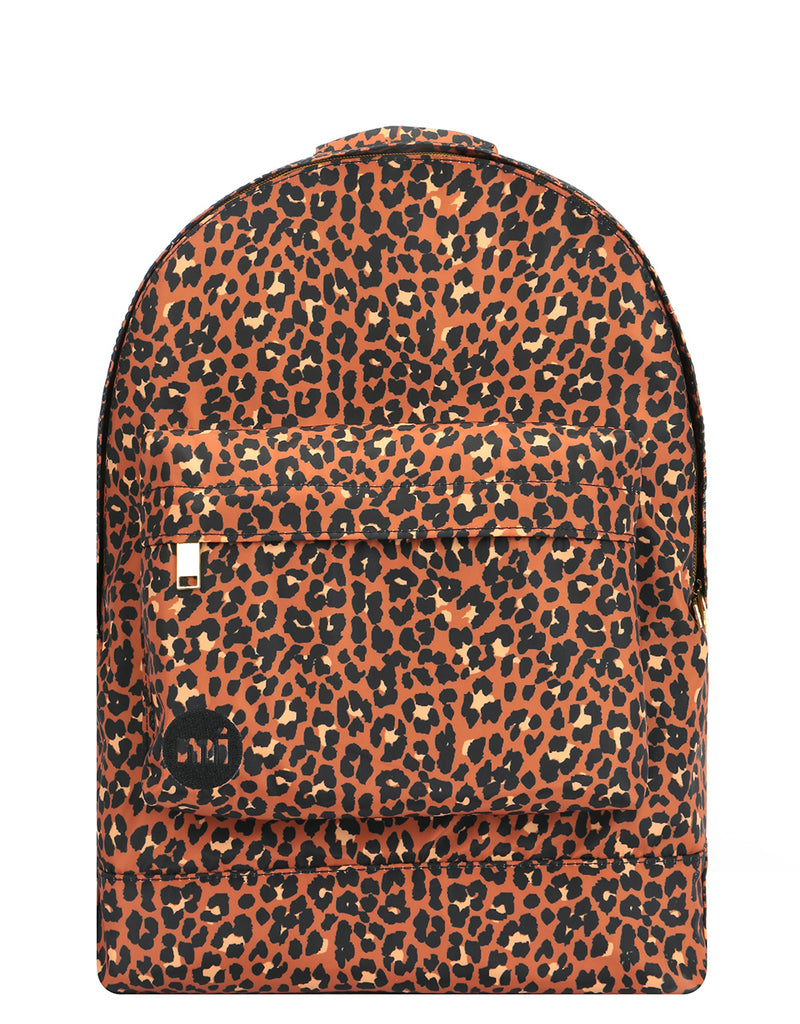 Mi-Pac Gold Nylon Backpack - Leopard