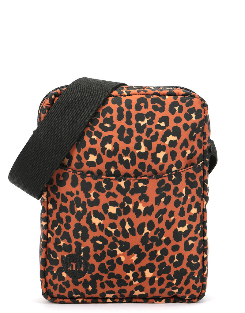 Mi-Pac Gold Nylon Flight Bag - Leopard