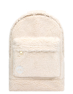 Mi-Pac Gold Shearling Backpack - Natural