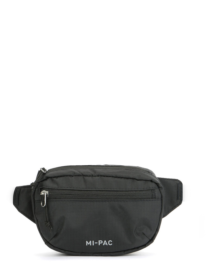 Mi-Pac Nylon Ripstop Hip Pack - Black