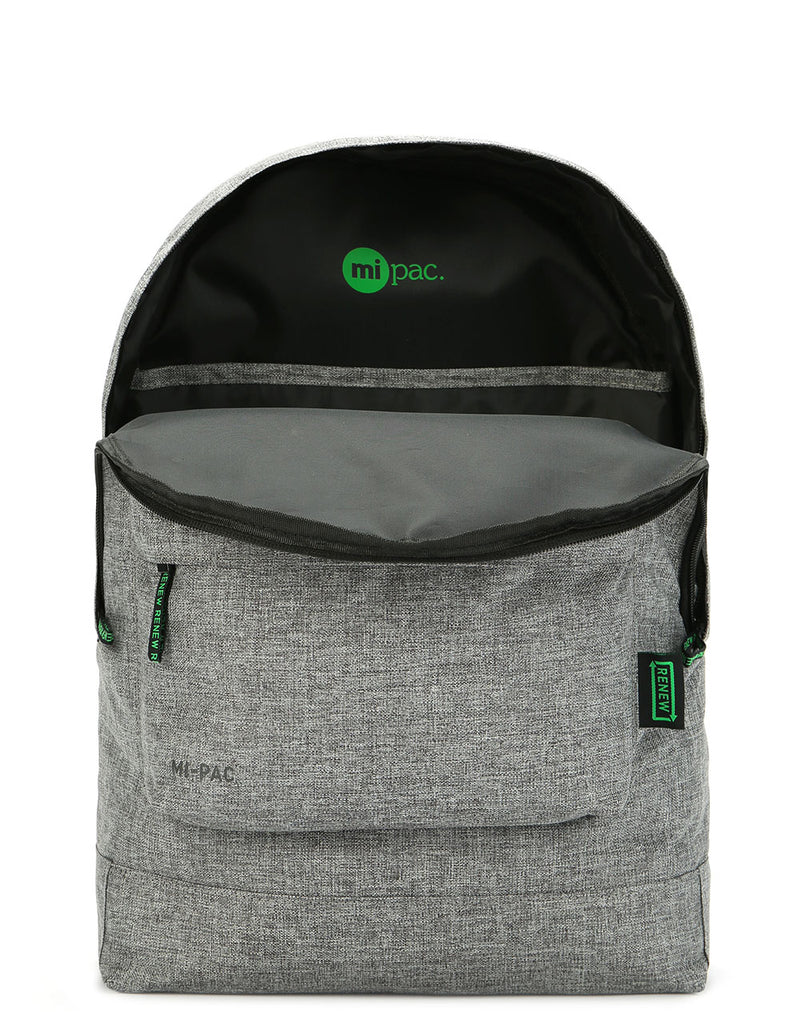 Mi-Pac Renew Classic Backpack- Crosshatch Grey