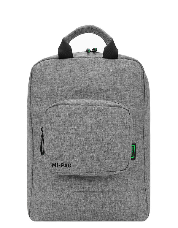 Mi-Pac Renew Tote Backpack Decon Crosshatch - Grey