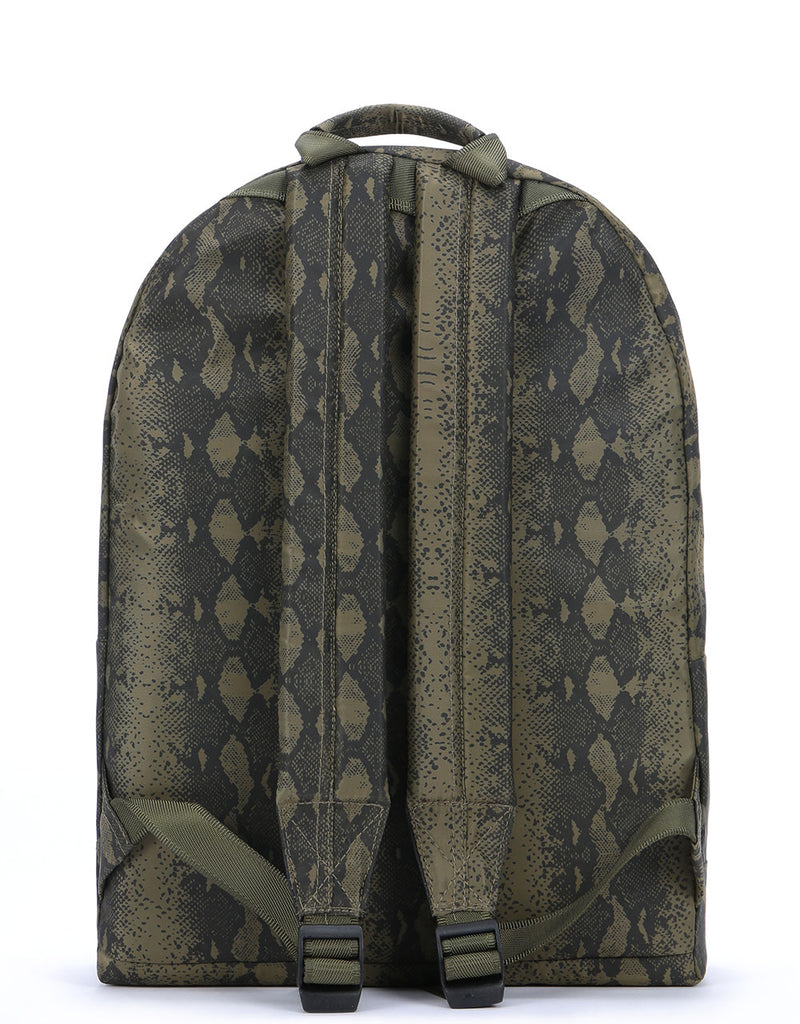 Mi-Pac Nylon Backpack -  Snake Khaki
