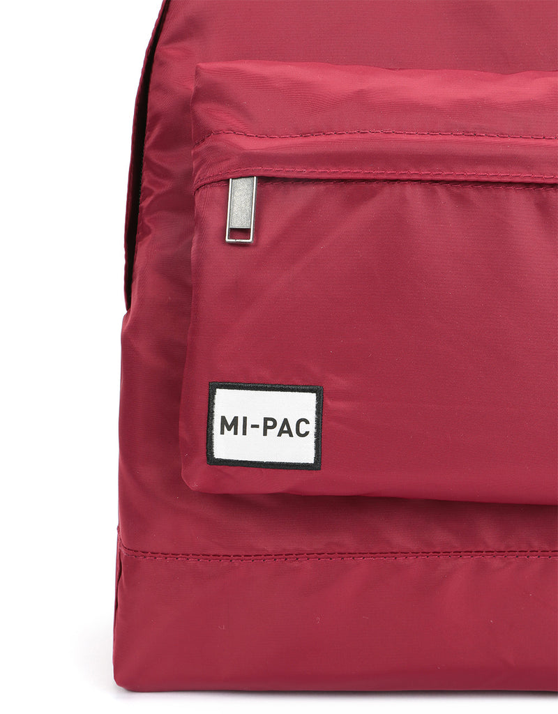 Mi-Pac Nylon Backpack - Burgundy