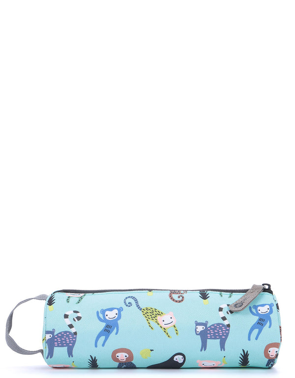 Mi-Pac Pencil Case - Monkey Business Mint