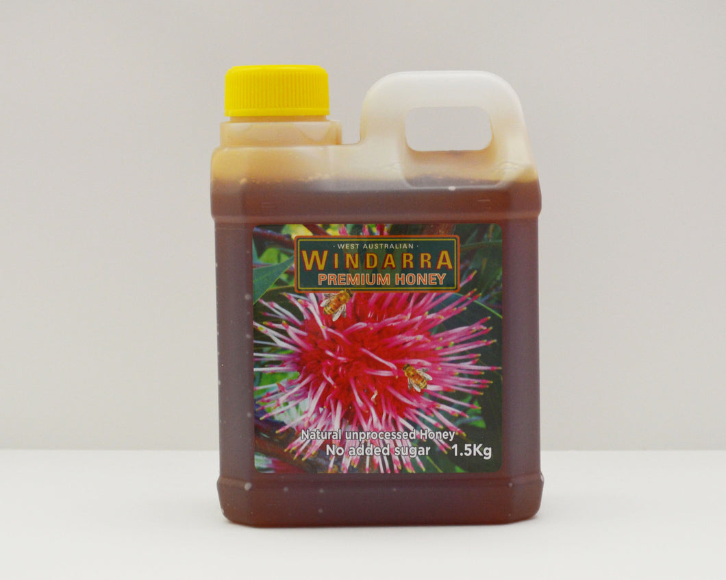 REDGUM HONEY 1.5 Kg NETT BOTTLE
