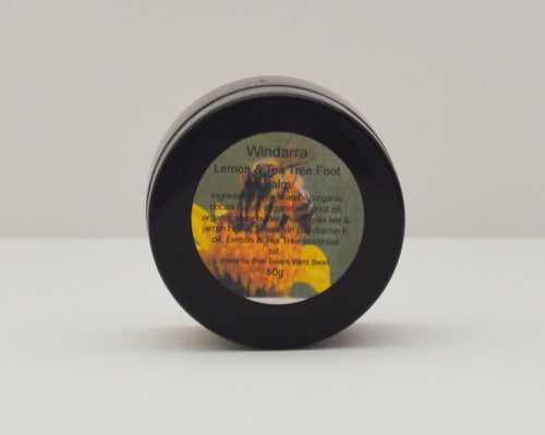 WINDARRA LEMON & TEA TREE FOOT BALM