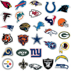 NFL Team Logo NAILTHINS Nail Decals