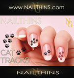 Pussy Cat Nail Decal NAILTHINS Nail Designs
