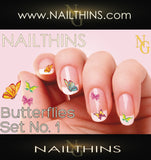 Bunny Nail Decal,  Easter Bunnies Nail Art by NAILTHINS