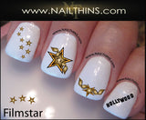 Film Star Nail Decal by NAILTHINS, Included in 2014 GBK Golden Globe Gift Lounge