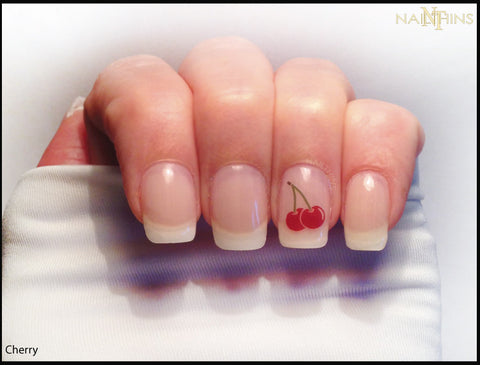 Cherry Nail Decals, Cherries by NAILTHINS