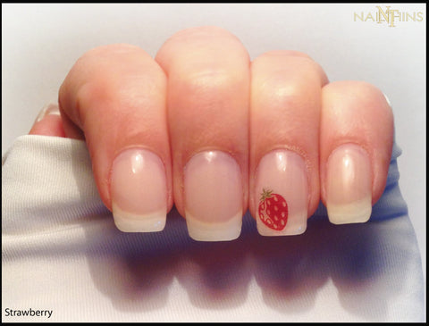 Strawberry Nail Decals, Strawberries by NAILTHINS