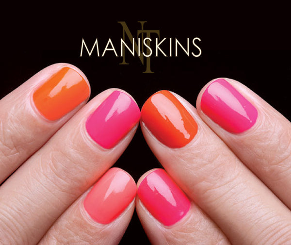 Maniskins A Layer Of Clear Nail Protection For Nails And Manicures Nailthins