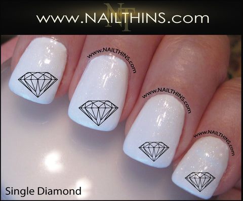 Diamond Nail Decal Nail Designs NAILTHINS