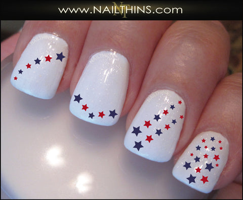 Star Nail Decal Set #3 Nail Art Design by Nailthins