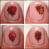 Vintage Victorian Flowers by NAILTHINS