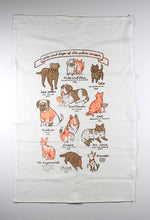 Load image into Gallery viewer, Tea Towel: Cats and Dogs of the Silver Screen