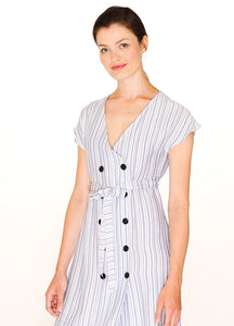 First Mate Striped Dress