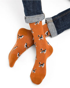 Men's Husky Pattern Socks