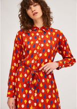Load image into Gallery viewer, Pottery Print Shirt Dress