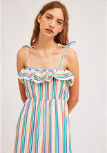Load image into Gallery viewer, Candy Striped Strap Dress