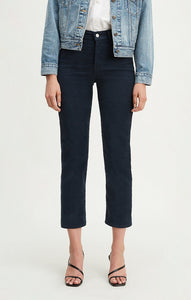 Wedgie Straight: Navy Corduroy