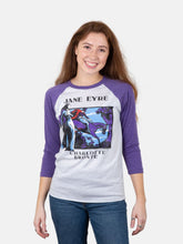 Load image into Gallery viewer, Jane Eyre 3/4 Sleeve Raglan Tee