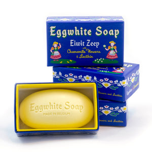 Facial Soap: Eggwhite and Chamomile
