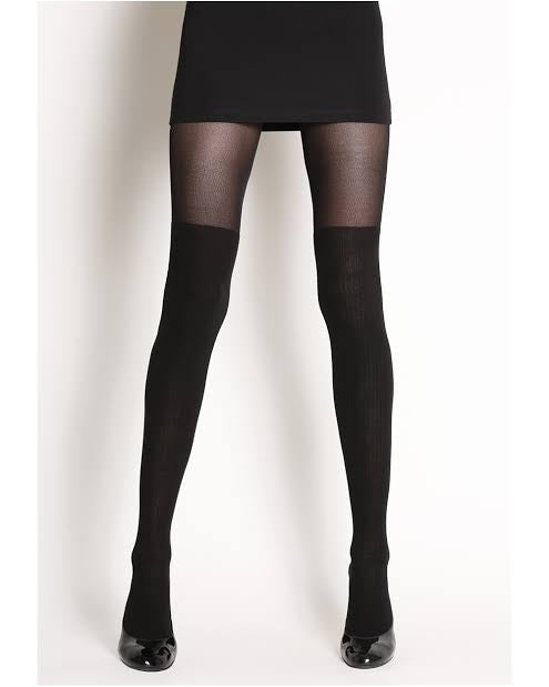 Over-the-Knee Look Tights