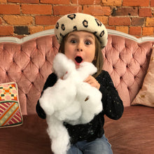 Load image into Gallery viewer, Kids Leopard Beret