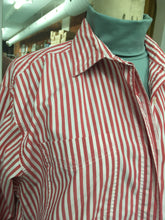 Load image into Gallery viewer, XL-2XL: Vintage Candy Cane Blouse