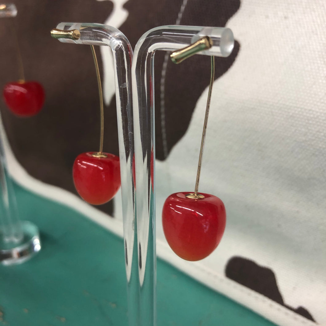 Medium Cherry Earrings