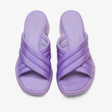 Load image into Gallery viewer, Camper Sandal: Violet Textile