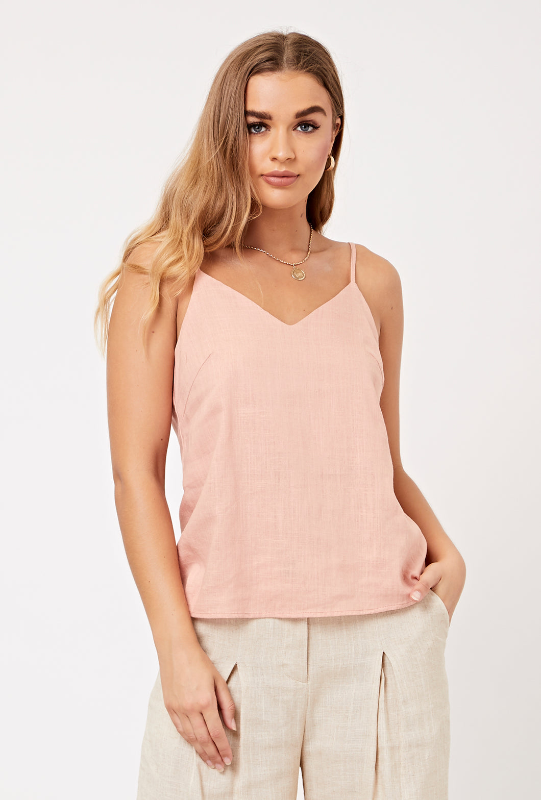 Easy Breezy Tank: Bermuda