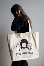 Load image into Gallery viewer, XL Tote: Stay Home Club