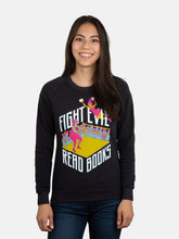 Load image into Gallery viewer, Fight Evil, Read Books Sweatshirt (Unisex)