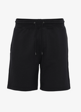 Load image into Gallery viewer, Black Organic Sweatshorts by Colorful Standard