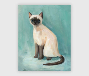 Siamese Print by Emily Winfield Martin