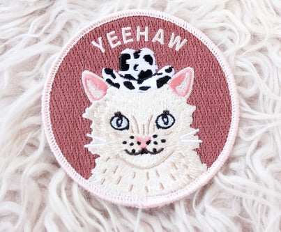 Yeehaw Cat Patch