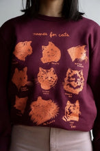 Load image into Gallery viewer, Names for Cats Sweatshirt