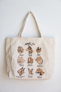 XL Tote: Dog Feelings