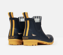 Load image into Gallery viewer, Joules Navy Duckie Rain Boots
