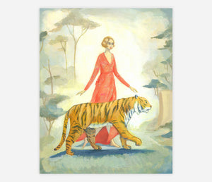 Tiger Twosome Print by Emily Winfield Martin