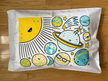 Load image into Gallery viewer, Solar System Pillowcase