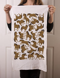Tea Towel: Wild Horses