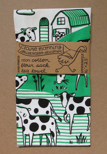 Tea Towel: Greener Pastures