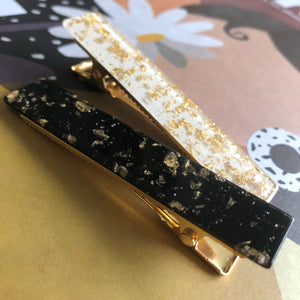 Fools Gold Barrette