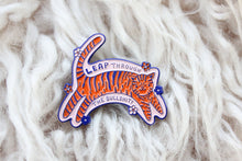 Load image into Gallery viewer, Leap Through Tiger Enamel Pin