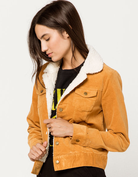 Golden Corduroy Jacket